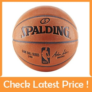 spalding NBA Game Ball Replica Basketball