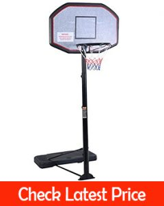 Giantex 10FT Portable Basketball Hoop Adjustable Height