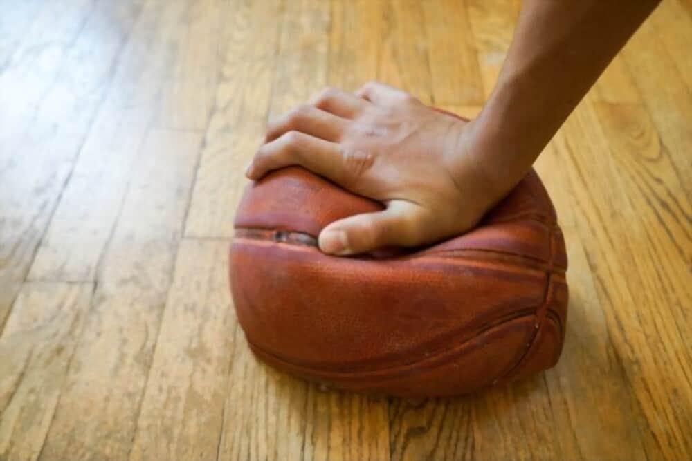 How to deflate a basketball