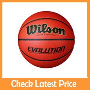 Wilson Evolution : Best Leather Basketball