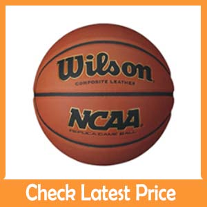 Wilson NCAA replica : Best leather basketball