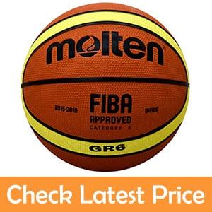 Molten GR6 Rubber Basketball