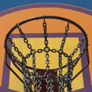 chains basketball net